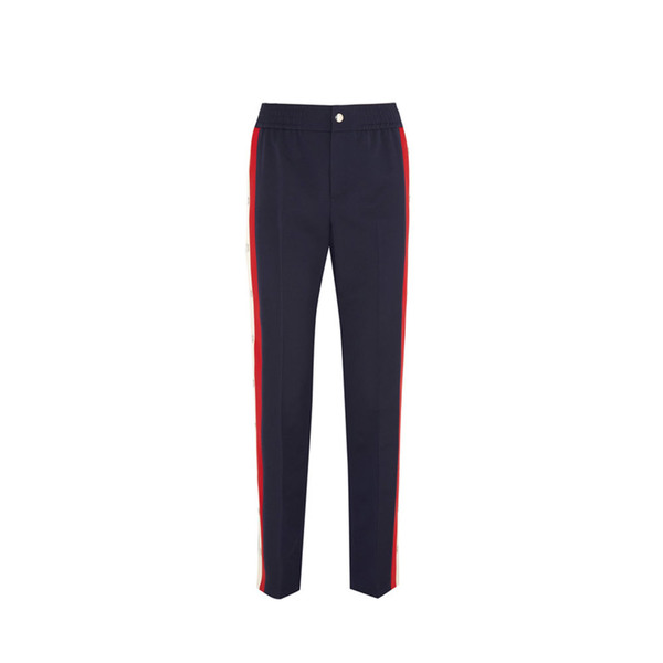 50de3ff2 Gucci - Striped wool and silk-blend jogging bottoms - Semaine