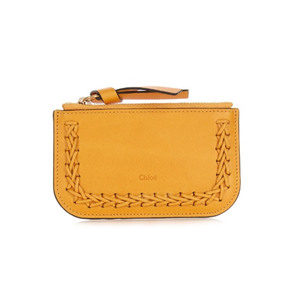Medium chloe hudson leather cardholder