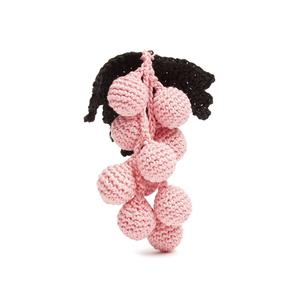 Medium knitted earring