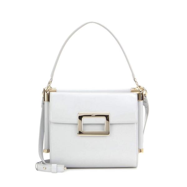 b5bfa72139f ROGER VIVIER - Miss Viv' Carré Small leather shoulder bag - Semaine