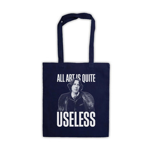 Medium amazon oscar wilde all art is quite useless tote bag