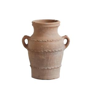 Medium ceraudo terracotta urn