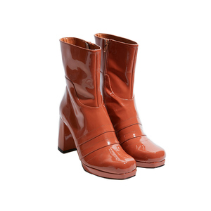 Medium amelie nancy patent brown
