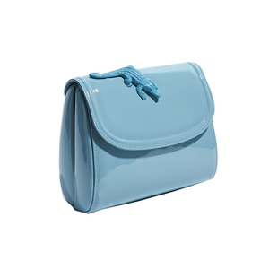 Medium amelie abag patent blue