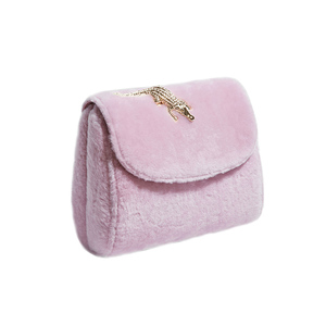 Medium amelie abag shearling pink1