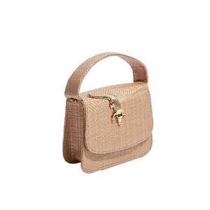 Medium amelie cbag rafia natural