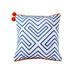Medium conran columbian geometric cusion cover square