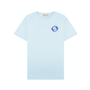 Medium etre cecile la flippers badge tshirtballad blue
