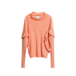 Medium bimba y lola coral flounce sweater