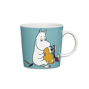 Medium trouva finland arabia moomintroll mug