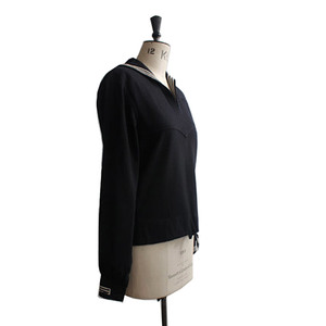 Medium vintage 1940s us navy uniform nautical sailor jumper top size 10  12