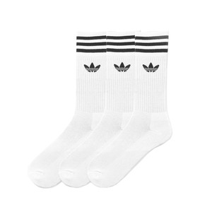 Medium adidas crew socks 3 pairs