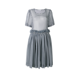 Medium molly goddard checkered dress1