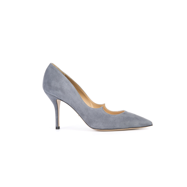 Large paul andrew far fetch grey heels