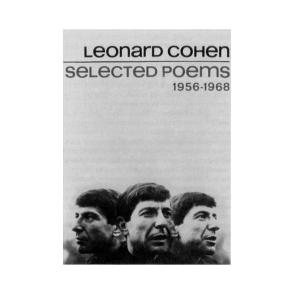 Large leonard cohen selected poems