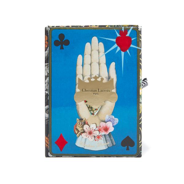Large christian lacroix maison de jeu playing cards