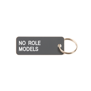 Medium no role models keytag