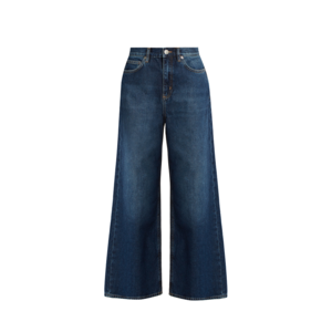 Medium matches caron wide leg cropped jeans