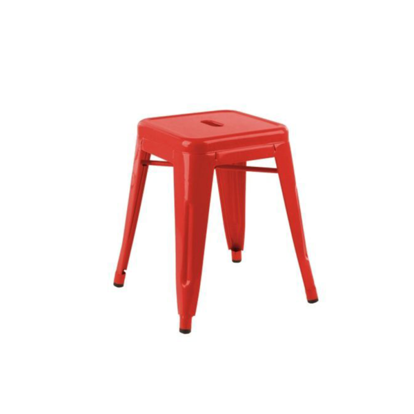 Large online reality red stool