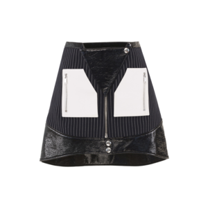 Medium courreges j04 multi pocket zip skirt