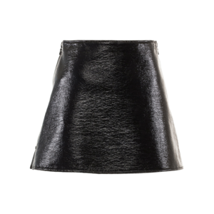 Medium courreges j07 iconic mini skirt black