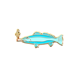 Medium good worth fish pin