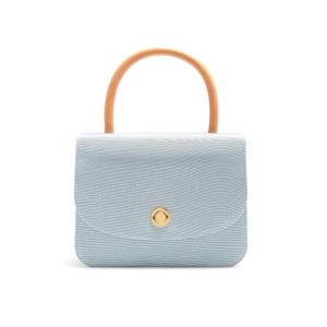 Medium mansur gavriel matches metropolitan grosgrain top handle bag