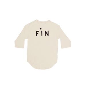 Medium clarev  fin print raglan tshirt