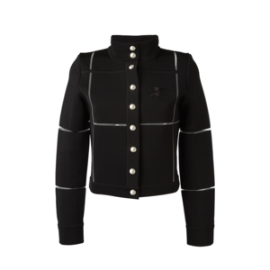 Medium courreges buttoned jacket