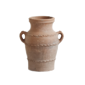 Medium ceraudo terracotta urn