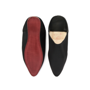 Medium trouva design home interiors medium moroccan leather slippers