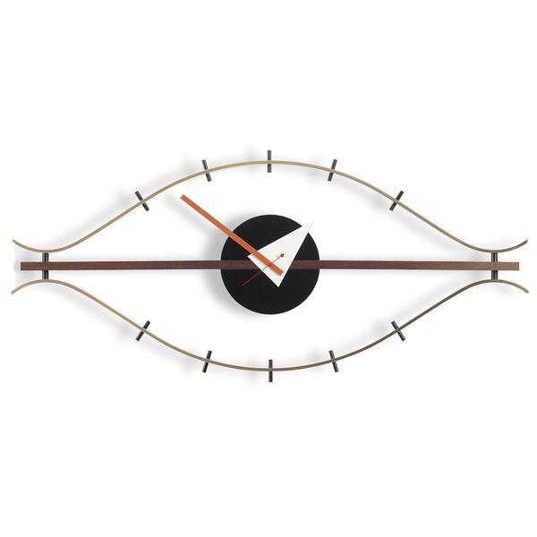 Large george nelson eye clock