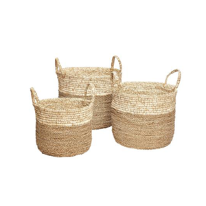 Medium hubsch large seagrass natural basket