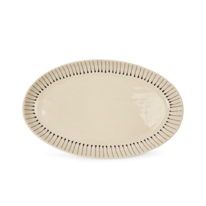 Medium woni ware oval platter