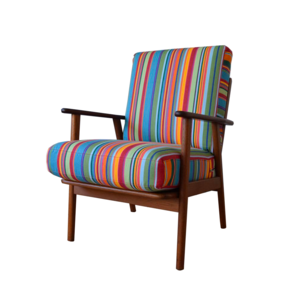 Medium pamono danish teak   oak  easy chair