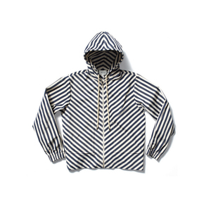 Medium kule nylon iris stripe jacket
