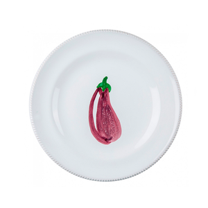 Medium the conran shop pomona aubergine plate medium