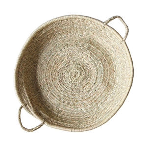 Medium food 52 handmade shallow moroccan basket