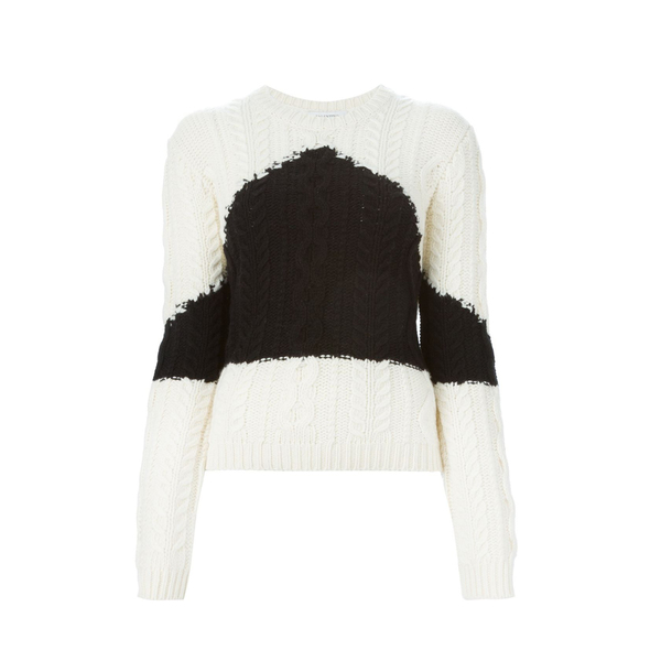 Large valentino cable knit farfetch