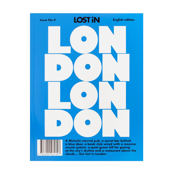 Large lost in london book