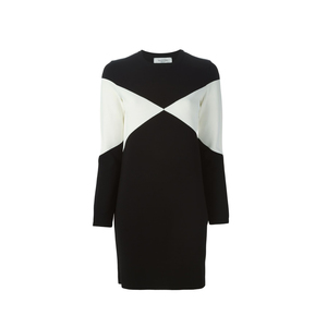 Medium valentino geometric sweater dress  farfetch  copy