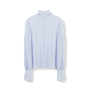 Medium chloe turtleneck top with back buttons and shirt cuffs