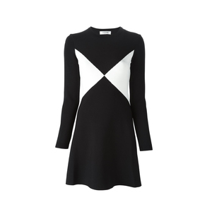 Medium valentino geometric sweater dress  farfetch