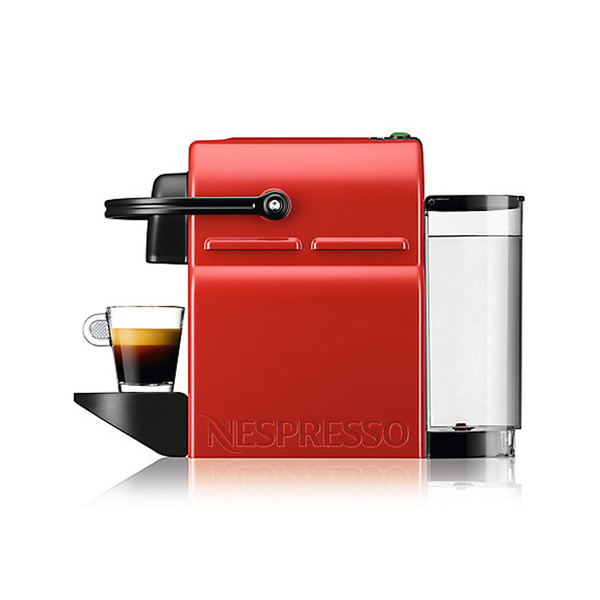 Large nespresso inissia coffee machine by krups