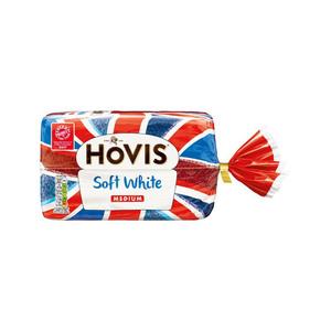 Medium hovis slice white bread
