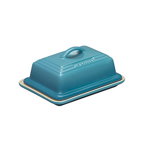 Medium le cruset stoneware butter dish