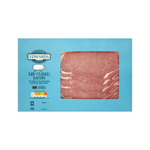 Medium edwards of conwy dry cure bacon 200g