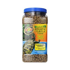 Medium natural aquatic turtle food