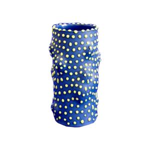 Medium pamono camouflage vase blue by ahryun lee