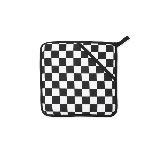 Large checkmate teflon coated pot holder